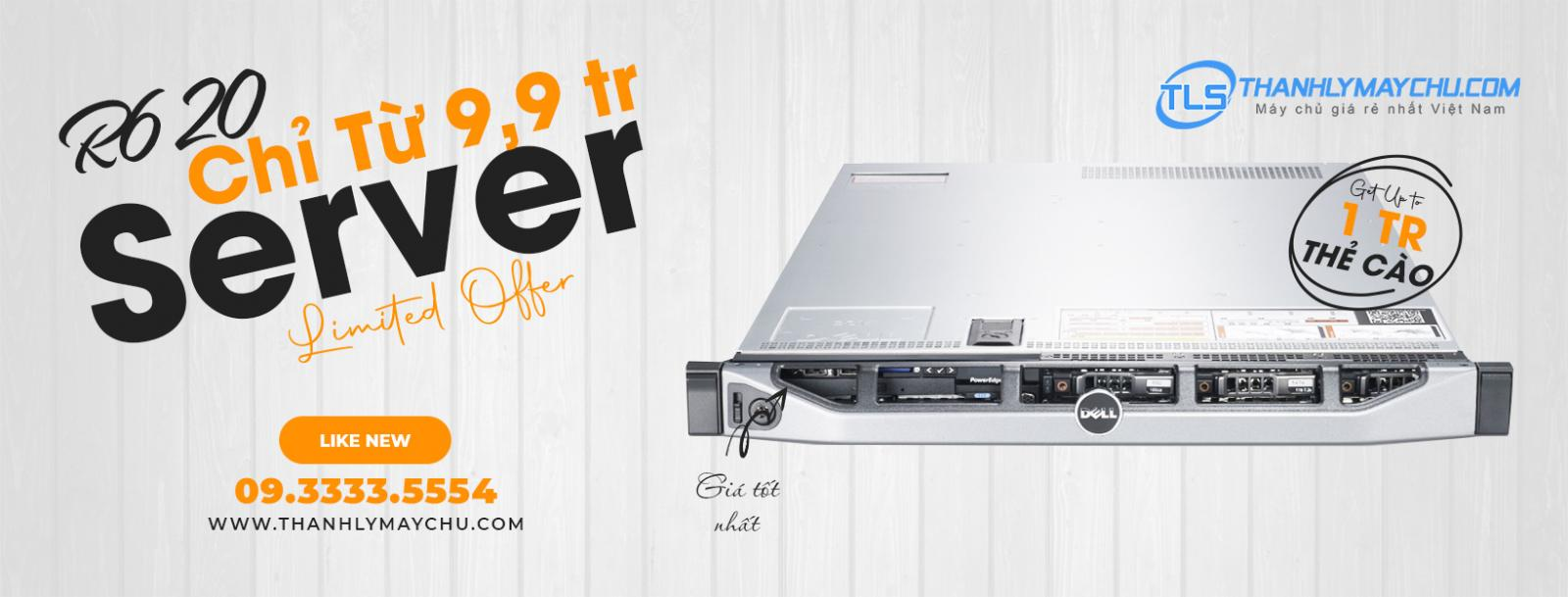 may chu server dell r620