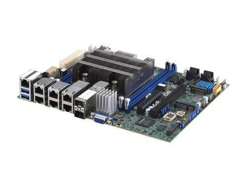 Supermicro MB MBD-X11SDV-8C-TP8F-O Xeon D-2146NT 256GB DDR4 PCIE M.2 Flex ATX