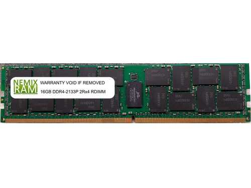 HP 726719-B21 16GB DDR4 2133 (PC4 17000) RDIMM Memory for HP ProLiant XL190r Gen9 Server r002656