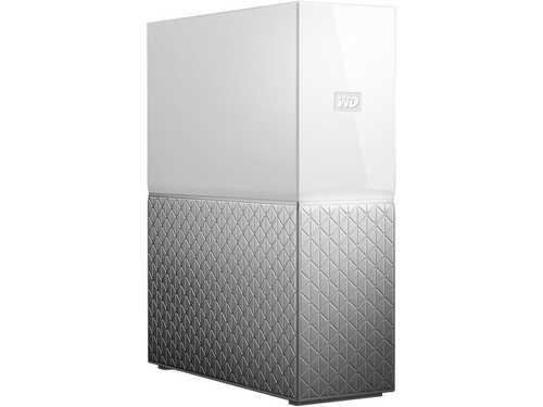 WD 4TB My Cloud Home Personal Cloud Storage - for PC/Windows & Mac (WDBVXC0040HWT-NESN)