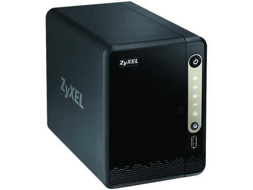 ZyXEL NAS326 Diskless System 2 Bay NAS Personal Cloud Server DLNA Diskless
