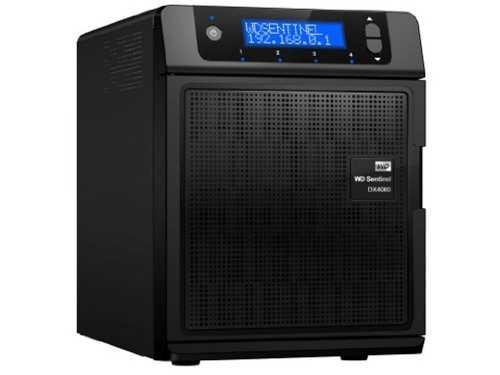 WD 8TB WD Sentinel DX4000 Small Business Network File Storage Server iSCSI NAS (WDBLGT0080KBK-NESN)