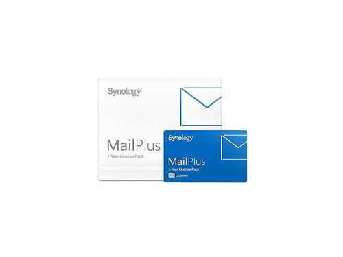 Synology MailPlus 20 Licenses MailPlus license pack for 20 email accounts