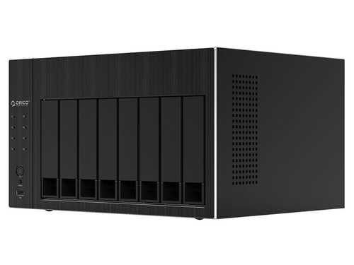 ORICO 8 bay NAS DiskStation with RAID Gen7 SATA to USB 3.0 HDMI RJ45 Audio USB2.0 SSD Case  96TB OS800