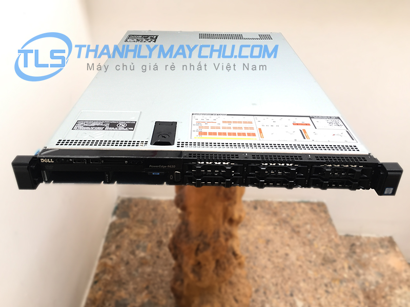 MÁY CHỦ DELL SERVER R630 8 TRAY HDD 2,5 IN